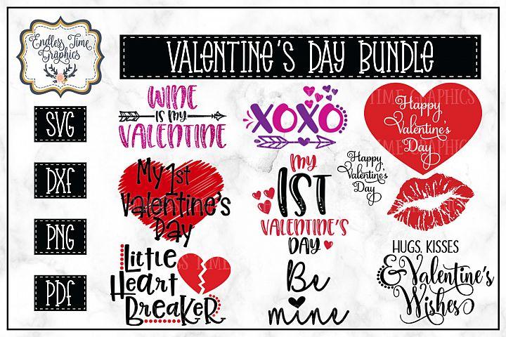 Valentines Day SVG Cut File Bundle