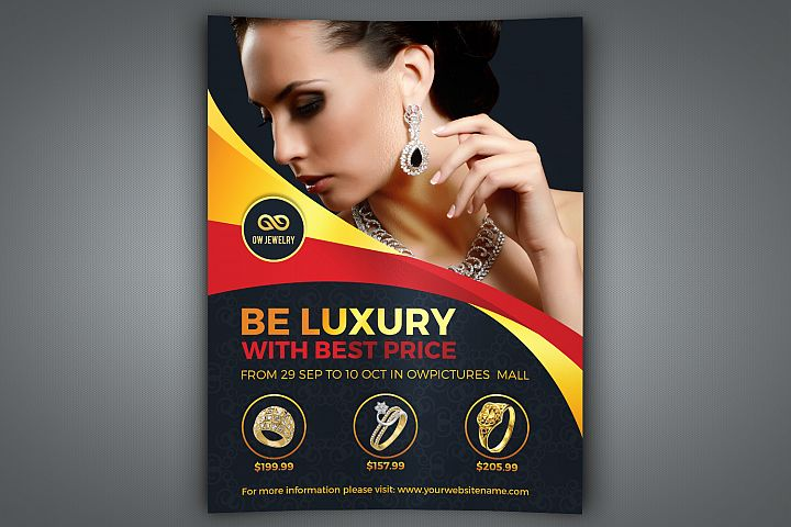Jewelry Flyer Template