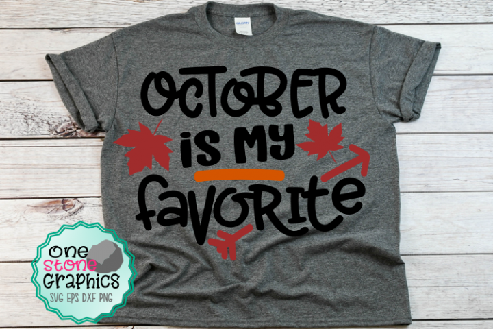 Fall svg,October is my favorite svg,halloween svg,leaves svg