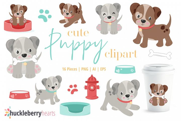 Cute Puppy Clipart