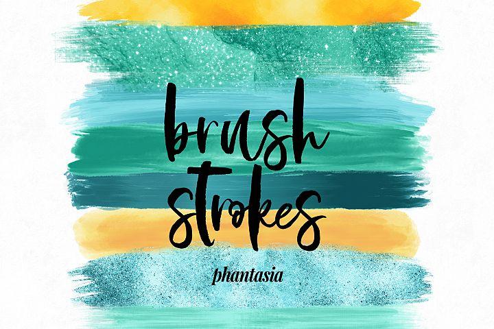 Surfer Girl Brush Strokes