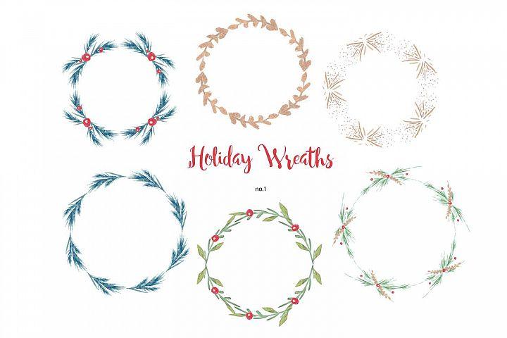 Christmas Wreath Grahics