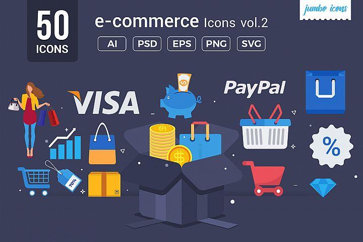 e- Commerce Vector Icons V2