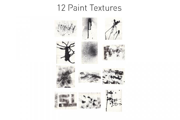 12 Paint Textures