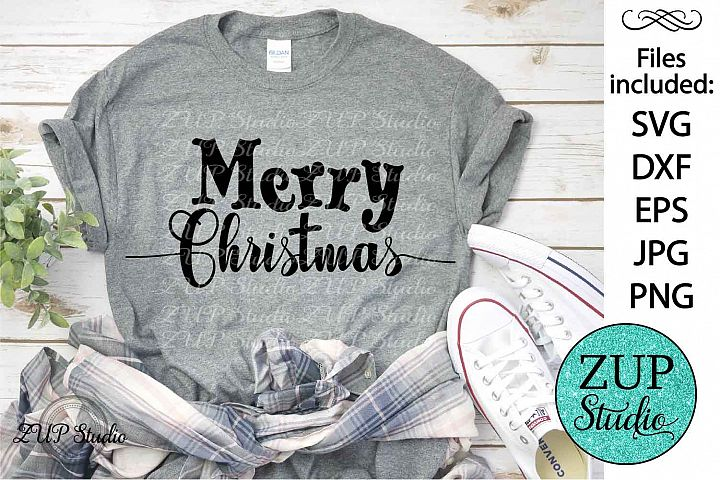 Merry Christmas SVG Design Cutting Files 296