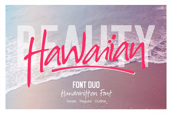 Hawaiian Font Duo