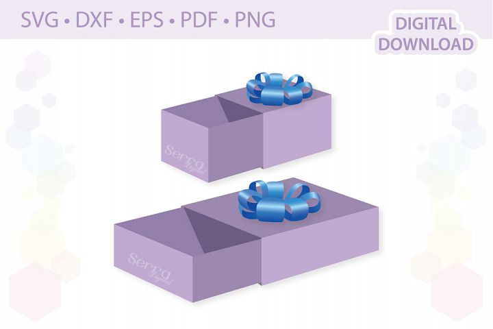Matchbox Favour Boxes cut file