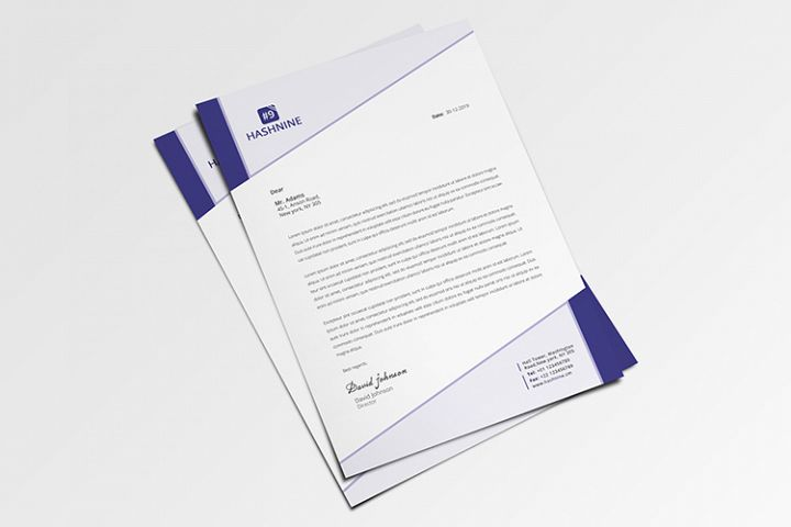 Letterhead with MS Wrd