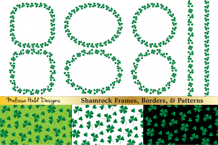 Shamrock Frames & Patterns