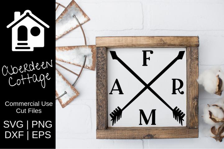 Farm Arrow Design SVG