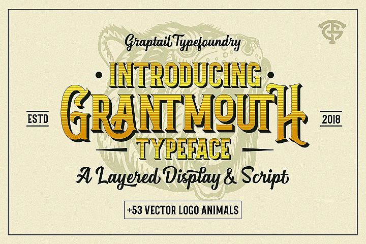 Grantmouth Font Duo Extras
