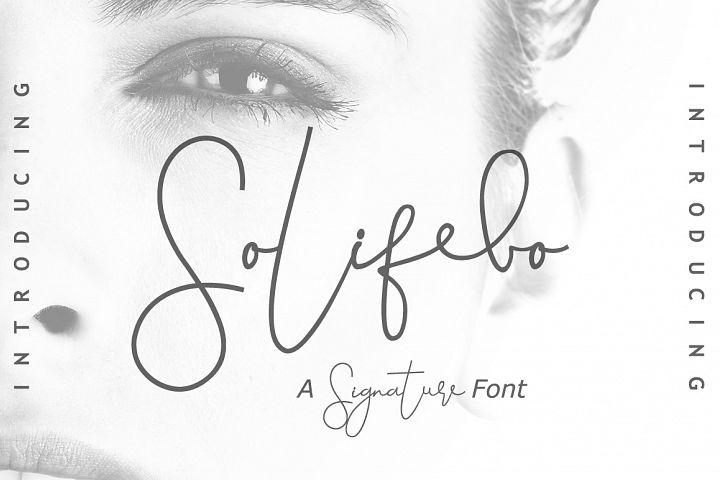 Solifebo Font