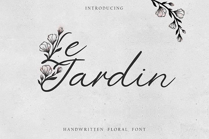 Le Jardin Floral Font