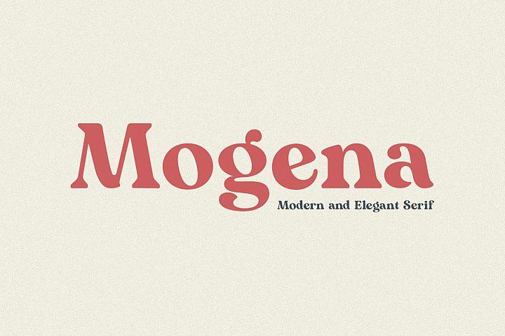 Mogena - Modern Serif Font