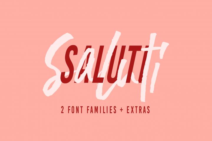 Saluti | Font Pair + Extras