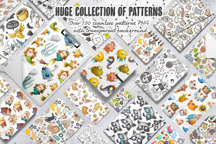 Entire shop patterns bundle
