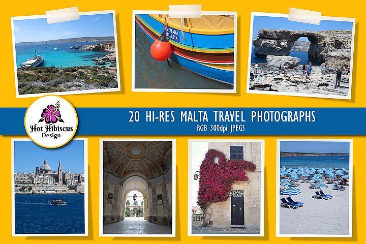 Malta and Gozo Travel Photographs Pack