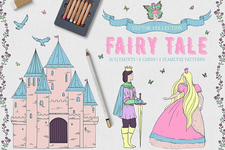 Fairy Tale. Vector collection