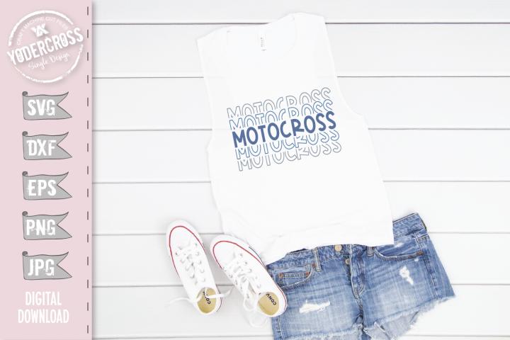 Motocross SVG