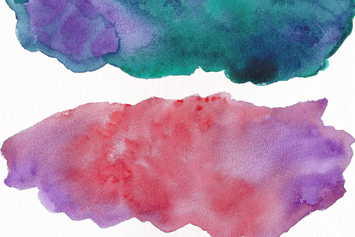 Watercolor Textures - card edition - Free Design of The Week Design 6