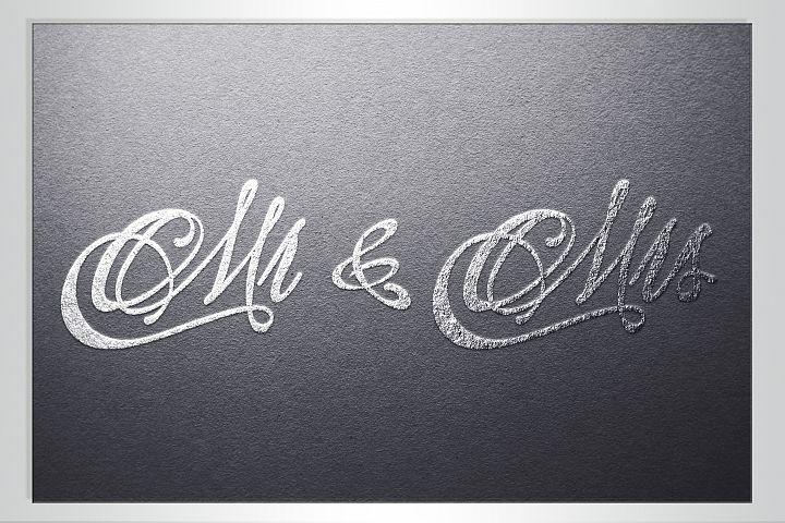 Wedding svg Mr and Mrs svg Monogram svg example image 5