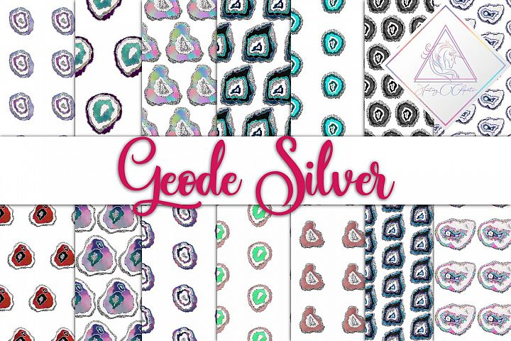 Geode Silver Digital Paper