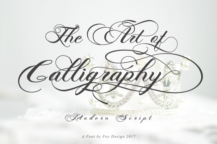 Photograph - Script Wedding Font - Free Font of The Week Design 9