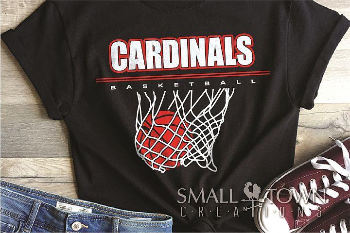 Cardinal, basketball, Sports,Team, PRINT, CUT & DESIGN