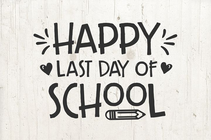 Last day of School svg, school sign, end of school svg