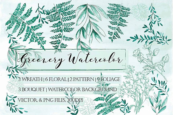 Forest Greenery Collection