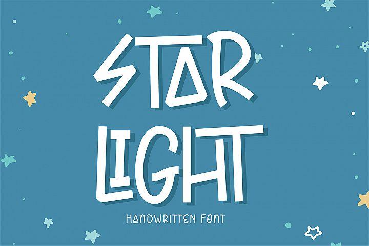 Star Light - Handwritten Font