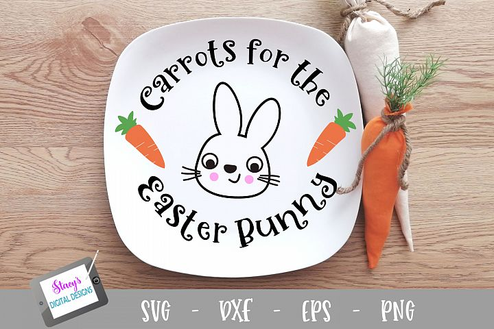 Easter SVG - Carrots for the Easter Bunny