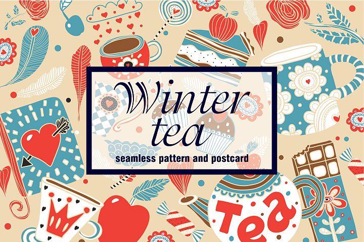 Winter tea time.