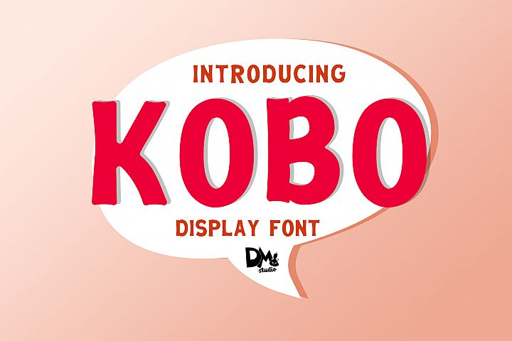 KOBO - DISPLAY FONT