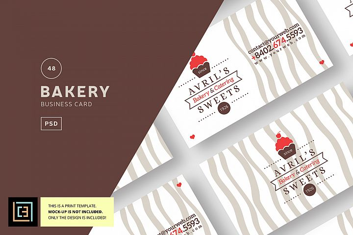 Bakery Business Card + Logo - BC048