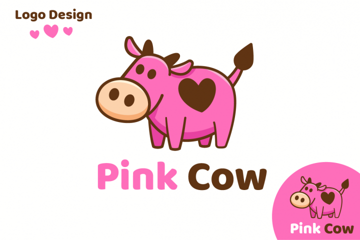Pink Cow Love