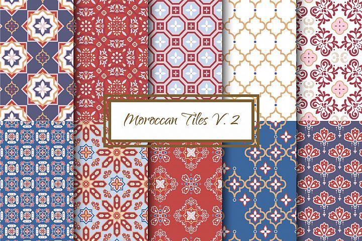 Moroccan Tiles V. 2- seamless textures