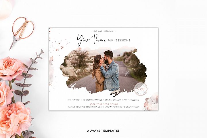 Photography Mini Session Template PM030