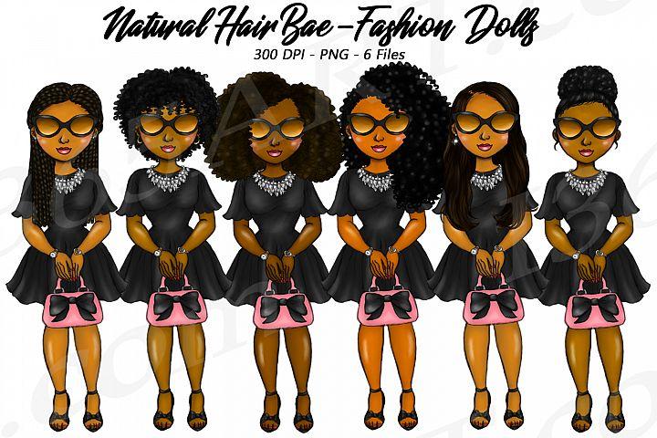 Bad Bae Planner Clipart, Black Girls, Natural Hair, Fashion