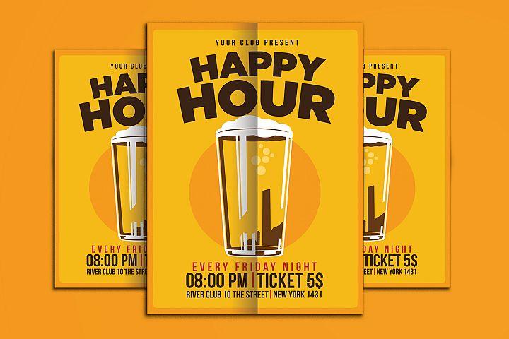 Happy Hour Beer Promo