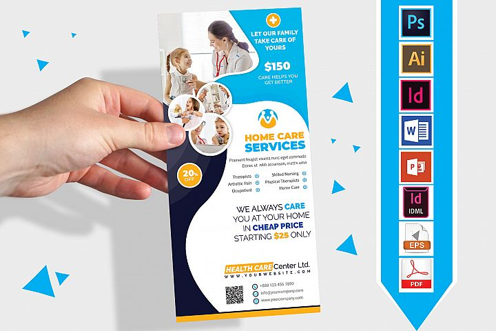 Rack Card | Home Care DL Flyer Vol-03
