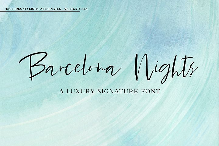 Barcelona Nights Signature Script