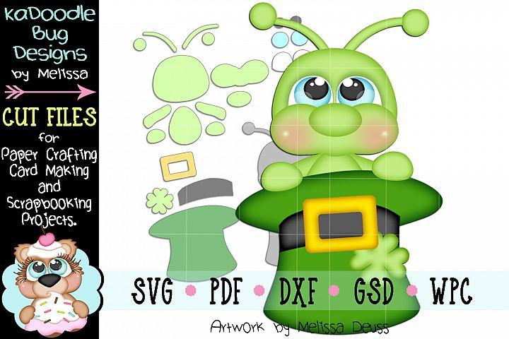 Leprechaun Hat Cricket Cut File - SVG PDF DXF GSD WPC