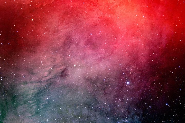Space Watercolor Backgrounds - Free Design of The Week Design 7