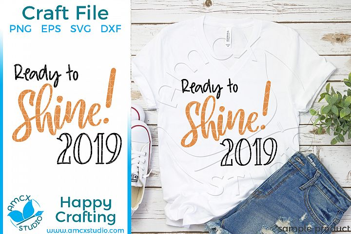 Ready To ShineNew Years Eve Craft SVG