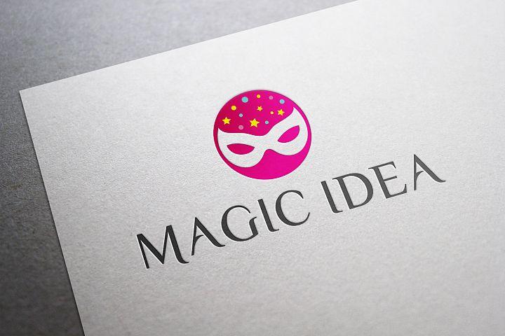 Magic Idea Logo Template
