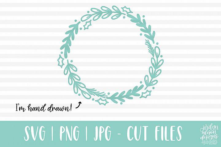 Holiday Wreath, SVG Cut File