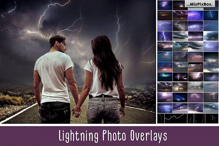 Lightning Photo Overlays