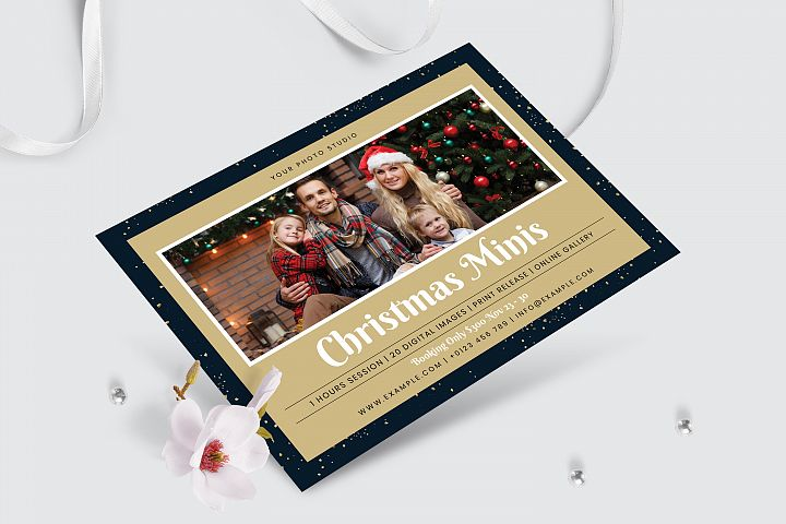 Christmas Minis Template