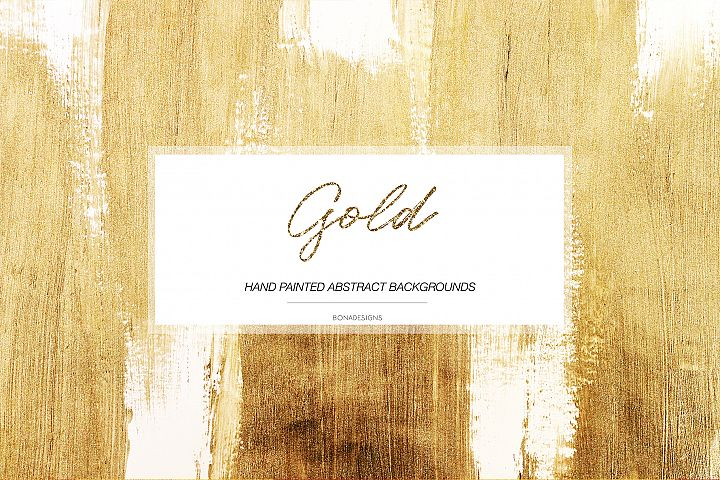 Gold Abstract Backgrounds, Gold Textures, Gold Backgrounds